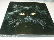 Vintage 1977 Authentic Springbok Magic Cat Puzzle MIDNIGHT 500+ Pieces (G)