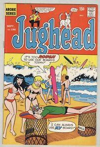 Jughead #196 September 1971 VG/FN Surfing cover
