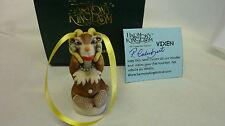 Harmony kingdom Vixen Santa's Reindeer 2015 England, Peter Calvesbert, Treasur