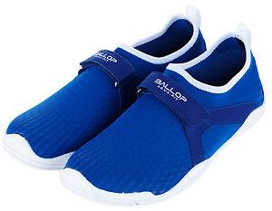 Ballop Aqua Fit Skin Shoes Active Series Line (Typhoon Blue) Women US Size 8