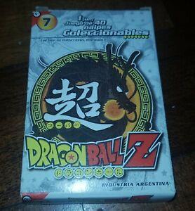 rare DRAGONBALL Z Argentina trading cards set #7 DBZ white  box