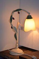 LAMPE DE CHEVET BUREAU EN FER FORGE LOUISIANE DECO LOFT DESIGN SHABBY