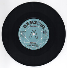 """RUBY WINTERS Better / In The Middle NORTHERN SOUL DEMO 45 (OUTTA SIGHT) 7"""" VINYL"""
