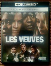 4K Ultra HD + Blu-ray - Les Veuves - [WIDOWS] 2018 - Steve McQueen - liam neeson