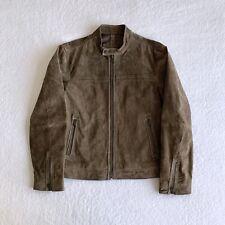 Mango Suede Leather Jacket   Men's Medium