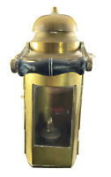 English Nautical Oil Lantern Vintage Lamp Antique Brass Lantern