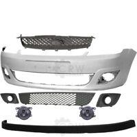 09-12 Facelift Set Stoßstange vorne grundiert+Nebel+Zubehör Peugeot 207 Bj