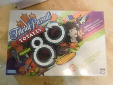 trivial pursuit totally 80's board game sealed canadian edition