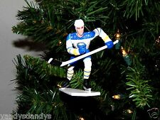 pat LAFONTAINE buffalo SABRES hockey NHL xmas TREE ornament HOLIDAY white JERSEY