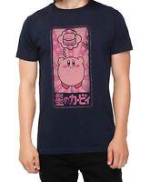Nintendo KIRBY Dreaming Of Food Hamburger KANJI T-Shirt Licensed & Official