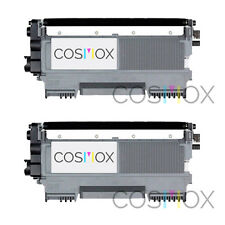 Set of 2 Compatible TN450 High Yield Black Laser Toner Cartridge for Brother
