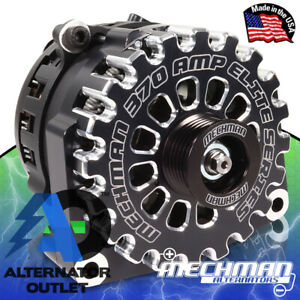⭐ Mechman 370 Amp Alternator 2005-2013+ Chevy / GMC / Cadillac / Hummer Truck