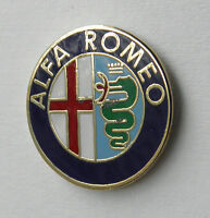 ALFA ROMEO EMBLEM AUTOMOBILE CLASSIC CAR LAPEL PIN BADGE 3/4 INCH