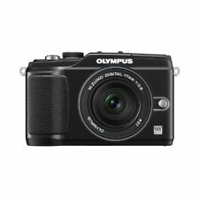 Near Mint! Olympus E-PL2 12.3MP with 17mm f/2.8 Black - 1 year warranty