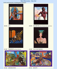 Big O Art Cards - Original 1970s - Six Mati Klarwein Cards [Ref # 6]
