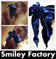 Fashion Women Elegant Velvet Bow Hairband Big Bowknot Lady Headband Ribbon Bow