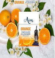 Vacuum Air Freshener cleaner Hoover Dust Bags Filters Freshener Vac Orange scent