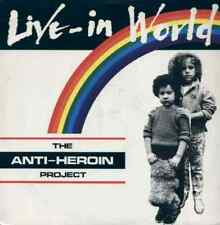 THE ANTI-HEROIN PROJECT LIVE-IN WORLD 12''
