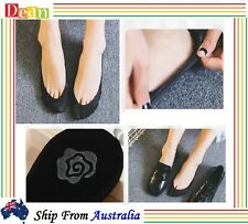 3Pairs Women Lady Non-slip Heel Grip Low Cut No Show Socks Invisible Footlets AU