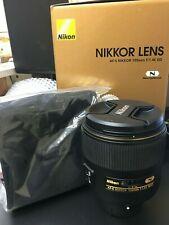 Nikon NIKKOR AF-S 105mm F/1.4E ED Lens