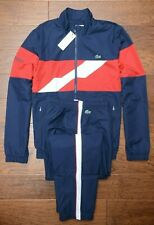 Lacoste Sport WH9538 $250 Mens Athletic Track Jacket & Pants Tracksuits 4XL EU 9