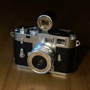 MINOX DCC Leica M3 5.0 with View Finder Custom Digital Camera From JAPAN