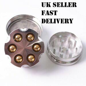 New 2020 40mm Tobacco Herb Spice 3-Piece Grinder Crusher Revolver Cylinder Cool