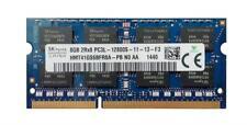 Barrette Mémoire Hynix 8Go DDR3 PC3-12800S 1600 MHZ HMT41GS6BFR8A PC PORTABLE