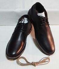 Kenneth Cole Desert Sun Leather Chukka Boot Brown Extra Laces Sz 11.5 #3444-2-Y
