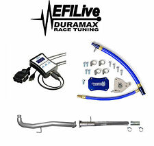 Chevy GMC Duramax LML 6.6L 2011-2015 Sinister EGR DPF Delete Kit EFI Live Tuner