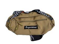 Supreme SS18 Khaki Waist Bag Fanny Pack Cordura Fabric