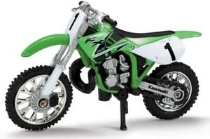 New Ray 1:32 Scale Kawasaki KX 250 Dirt Bike Diecast Model Motorcycle