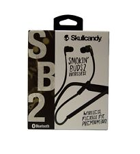 Skullcandy Smokin' Buds 2 Wireless Earbuds with In-Line Mic & Remote, *S2PGHW174