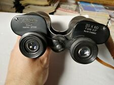 Binocolo epoca vintage Browni 20x60 field 33° Fully Coated Optics Japan custodia