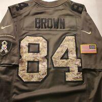 Pittsburgh Steelers Salute To Service Antonio Brown #84 Nike Football Jersey SzM