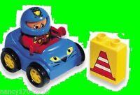 Lego Duplo  Rennauto Flitzer Rennfahrer 1405 Figur mit Helm Racing Lion Fahrzeug