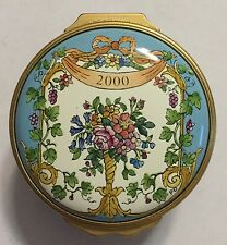 Halcyon Days 2000 Mother's Day Enamel Box - With Love on Mother's Day