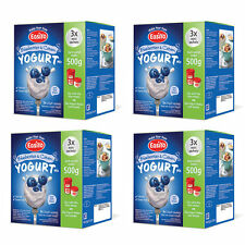EasiYo Blueberries & Cream Mini - 4 boxes (12 Sachets) Best Before Nov 2017