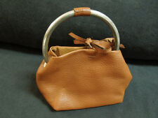Mint Condition Laurent Effel Light Brown Leather Purse St Barths Made in Italy