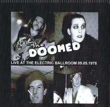 THE DOOMED live at the electric ballroom 09.05.1978 ..the damned motorhead lemmy