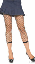 One Size Fits Most Womens Fishnet Footless Tights