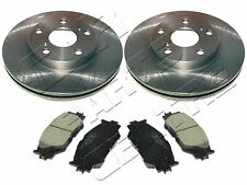 FOR LEXUS IS220D IS250 2005- FRONT BRAKE DISCS and BRAKE PADS KIT BRAND NEW