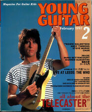 Young Guitar Feb/97 Jeff beck Andy Timmons Nuno Extreme Ratt Yngwie Steve Morse