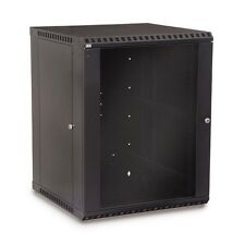 Kendall Howard 15U Fixed Wall Mount Rack Cabinet Made in the USA 3140-3-001-15