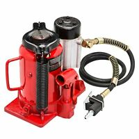 New 20 Ton Air Manual Hydraulic Bottle Jack 4000 LBS Lift Repair Car Truck