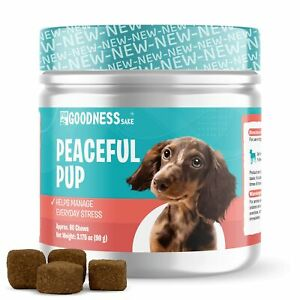 Dog Calming Chews - Anxiety Relief Treats to Help Dog Separation Anxiety