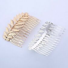 Fashion Comb Women Hollow Insert Comb Tree leaves Elegant Hair Accessories WA