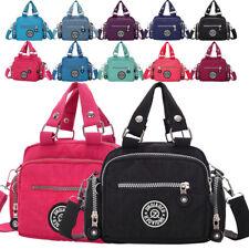 Leisure Women Tote Messenger Cross Body Handbag Ladies Nylon Shoulder Bag Purse