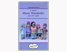 Crochet Doll clothes Simple Basic Wardrobe doll clothes by Annie Potter Croch