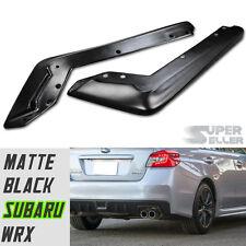 2015 for Subaru WRX Rear Bumper Lip Splitter Spoiler Bodykit Sedan Matt Black